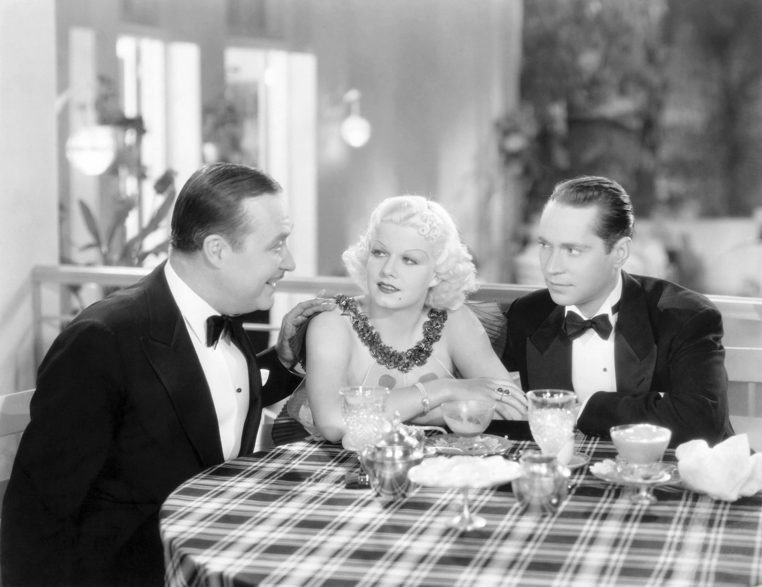 Jean Harlow in The Girl From Missouri with (L to R) Hale Hamilton, Jean Harlow, Franchot Tone