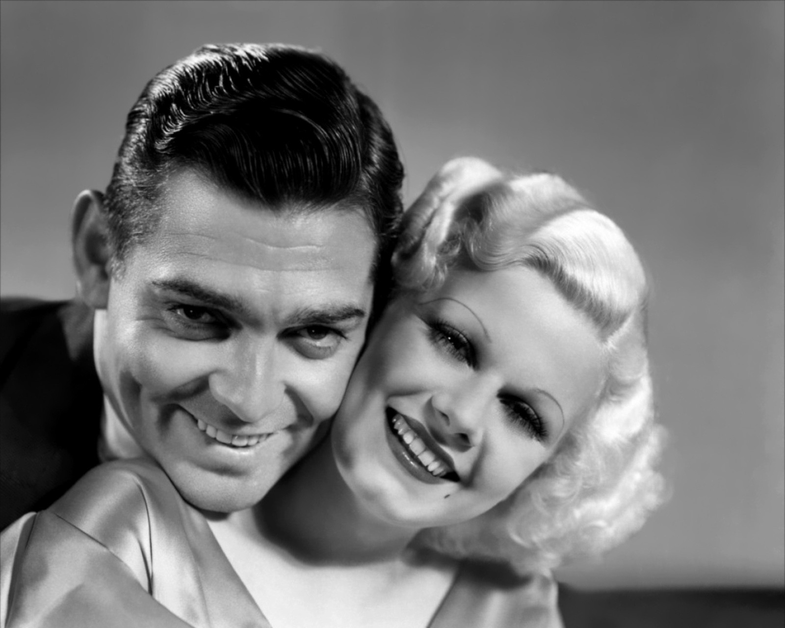 Jean Harlow in Hold Your Man With Clark Gable