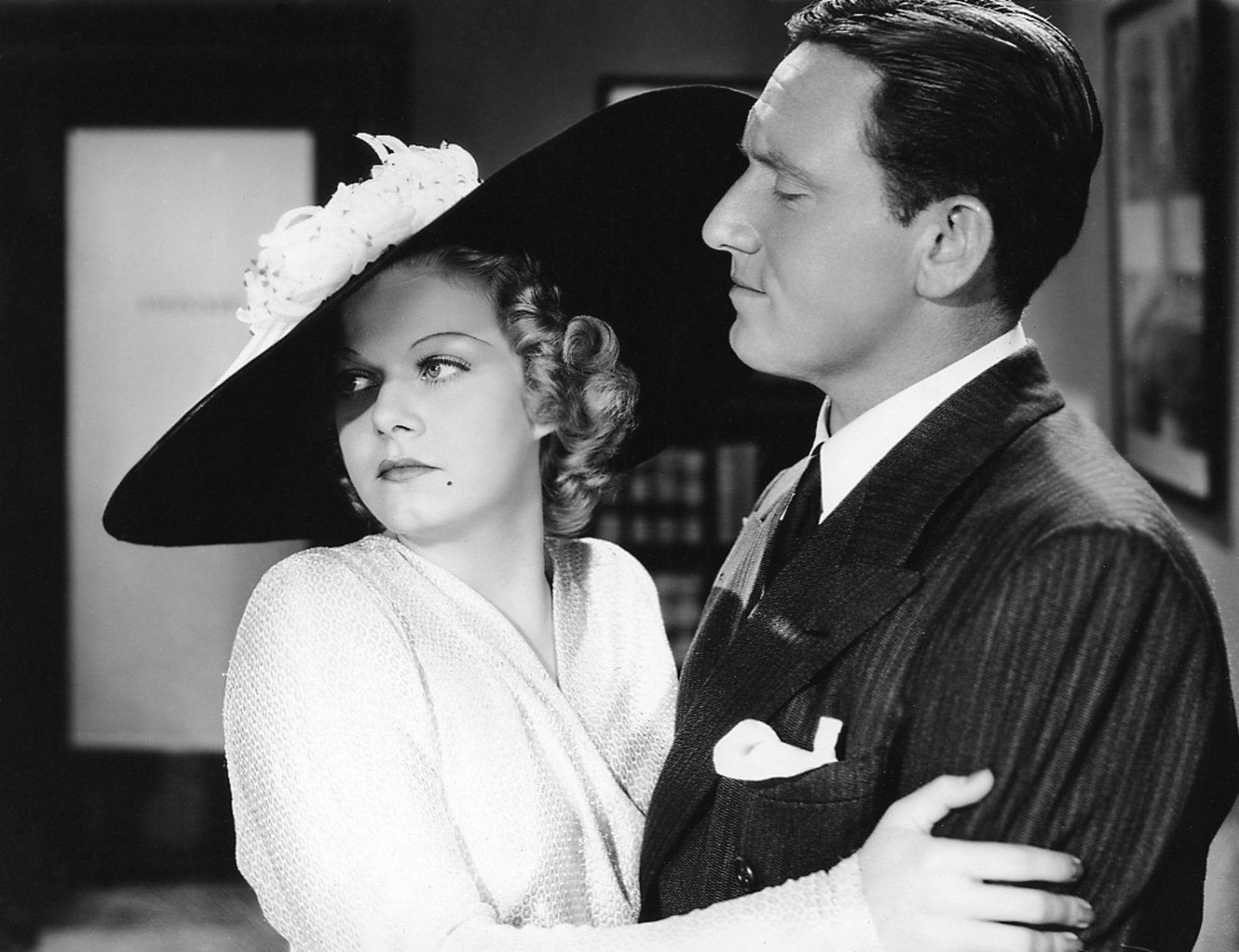 Jean Harlow in Libeled Lady With Spencer Tracy