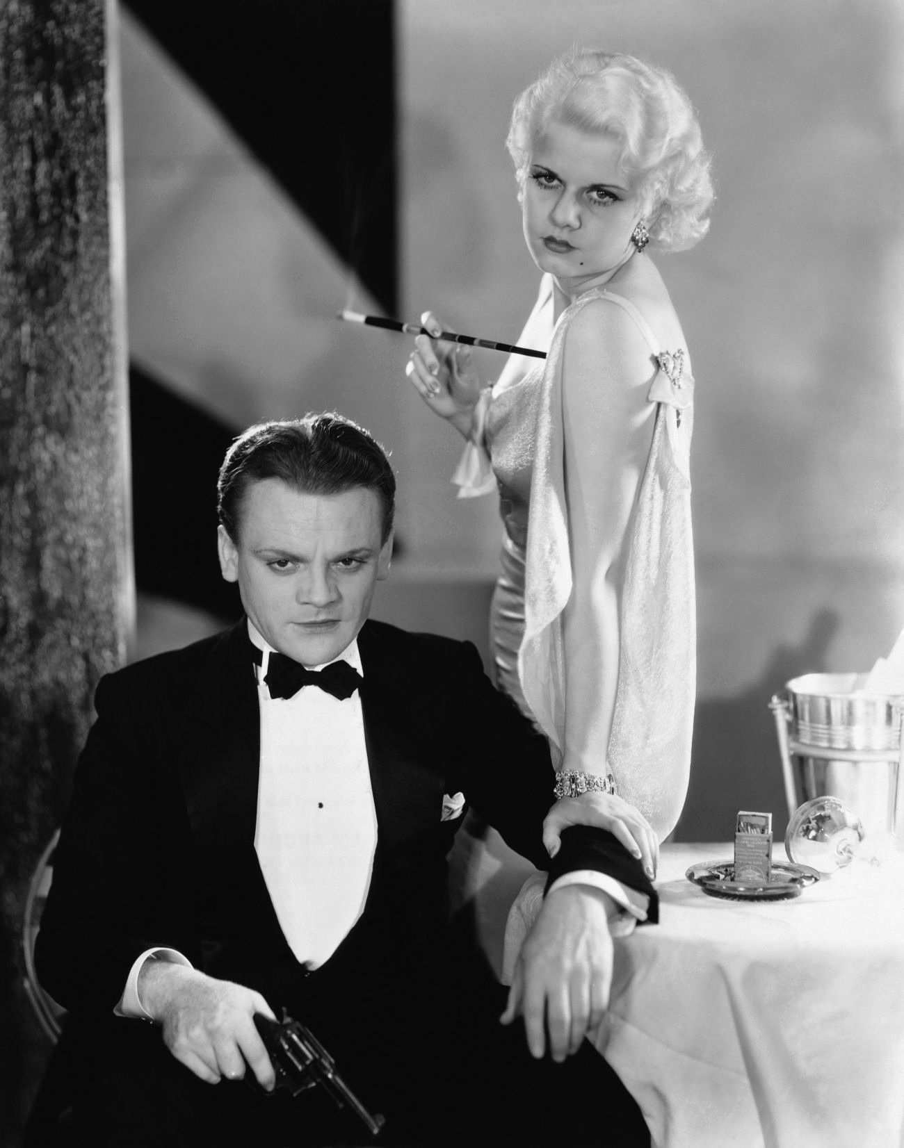 Jean Harlow in The Public Enemy With James Cagney