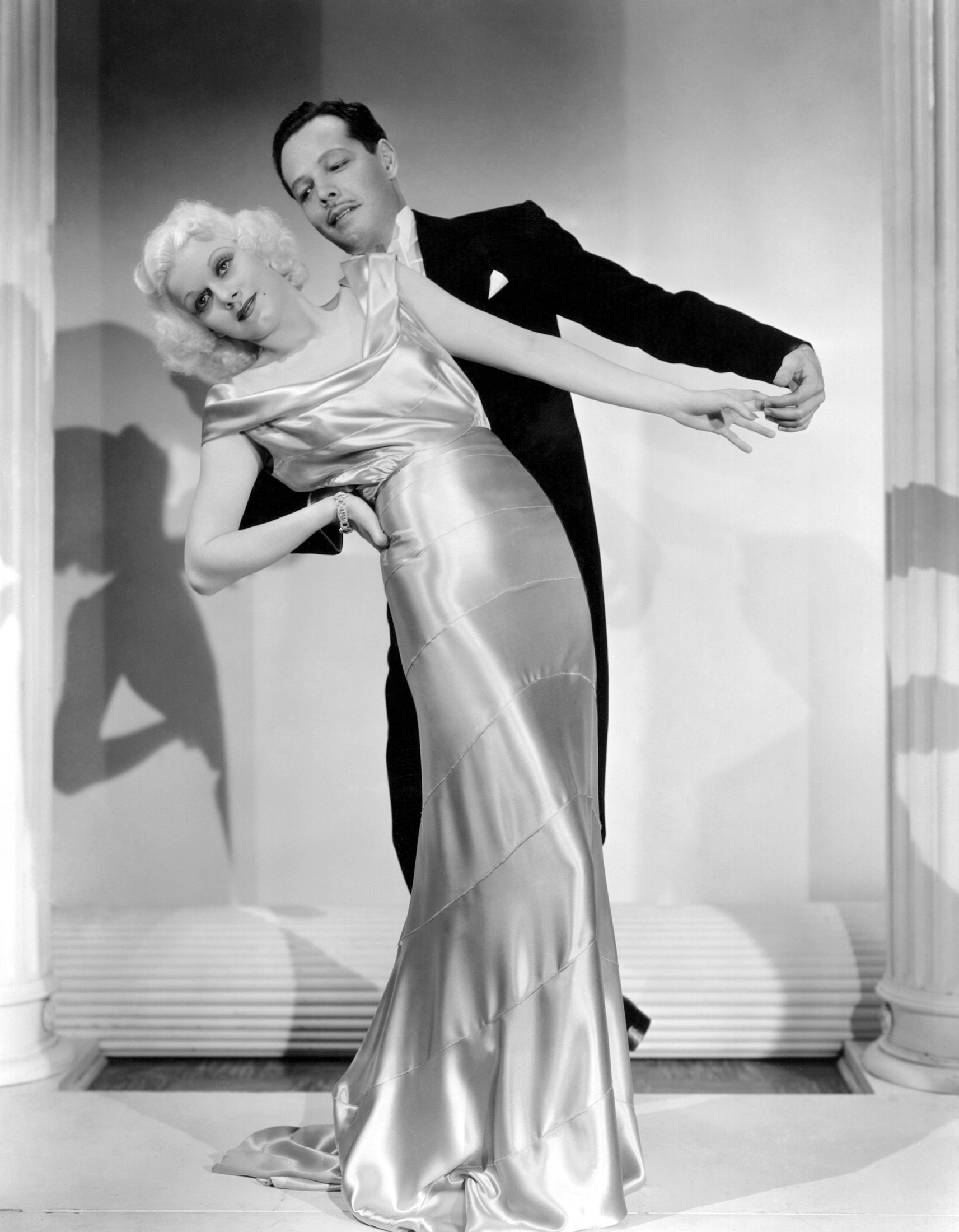 Jean Harlow in Reckless With Carl Randall