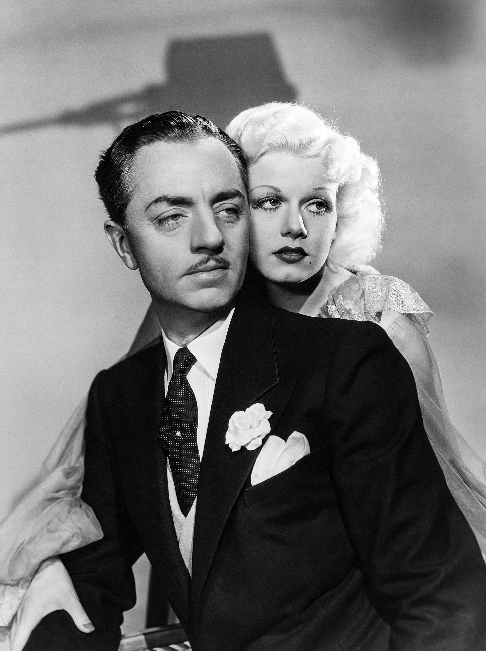 Jean Harlow in Reckless With William Powell