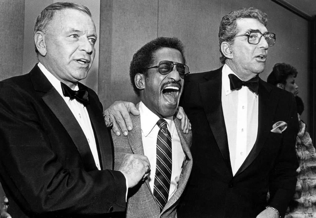 Frank Sinatra, Sammy Davis Jr. and Dean Martin