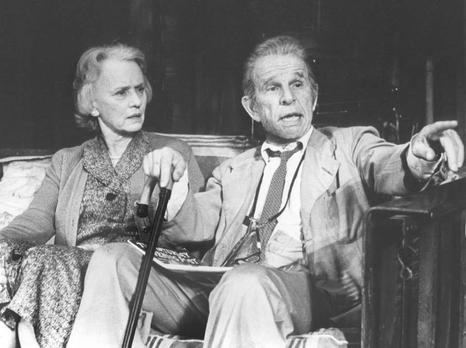 Actors Hume Cronyn and Jessica Tandy were one of Hollywood's great romances. They were married from 1942 to her death in 1994 and had two children. Over the decades they appeared together in such films as 1985's