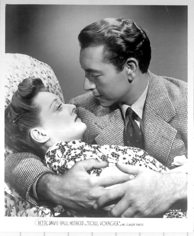Bette Davis and Paul Henreid in one of the most romantic movies made in the 1940s-