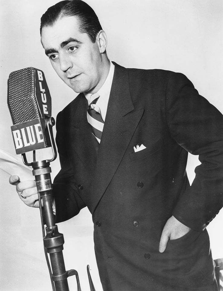 Jim Backus! Radio fans will know him as the vain Mr. Hartley Benson on The Mel Blanc Show. He was also heard on The Jack Benny Program and The Alan Young Show. As more radio programs moved to TV, his career transitioned as well.