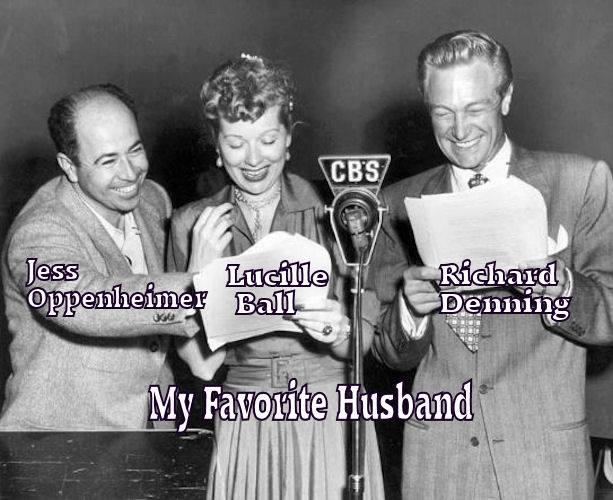 Jess Oppenheimer, Lucille Ball and Richard Demming