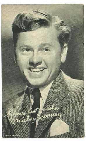 Mickey Rooney.