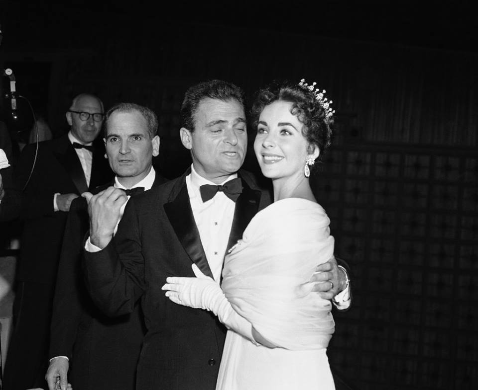 Elizabeth Taylor and her third husband Mike Todd