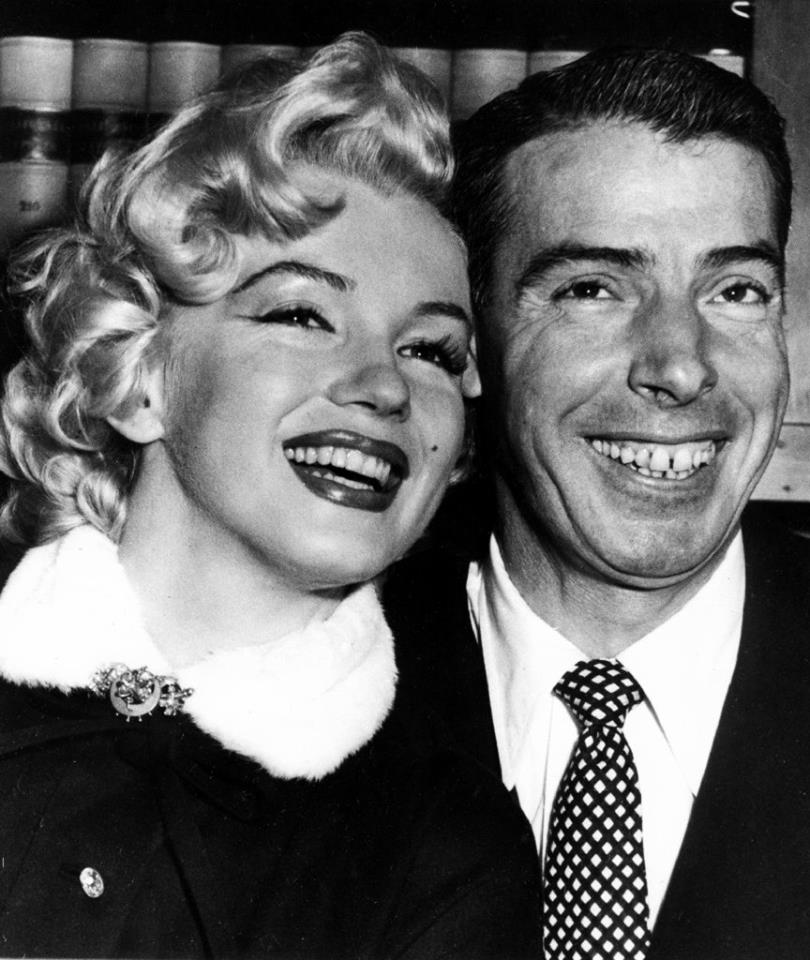 Marilyn Monroe and Yankee legend Joe DiMaggio