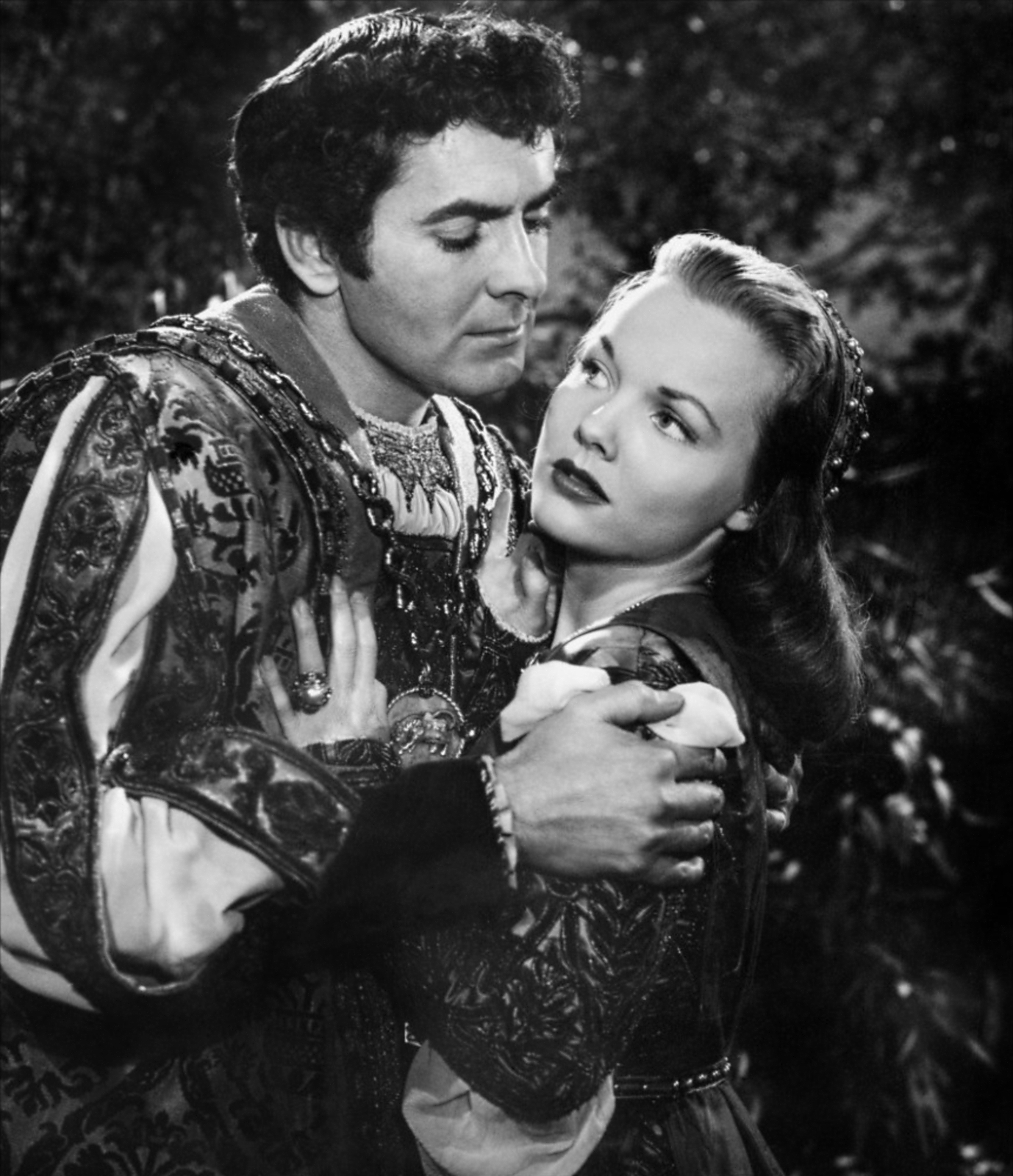 Wanda Hendrix in Prince of Foxes with With Tyrone Power, Jr.