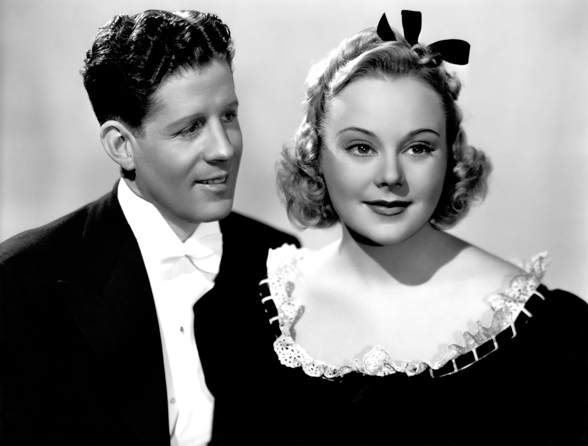 Sonja Henie in Second Fiddle With Rudy Vallee (courtesy of Ricardo)