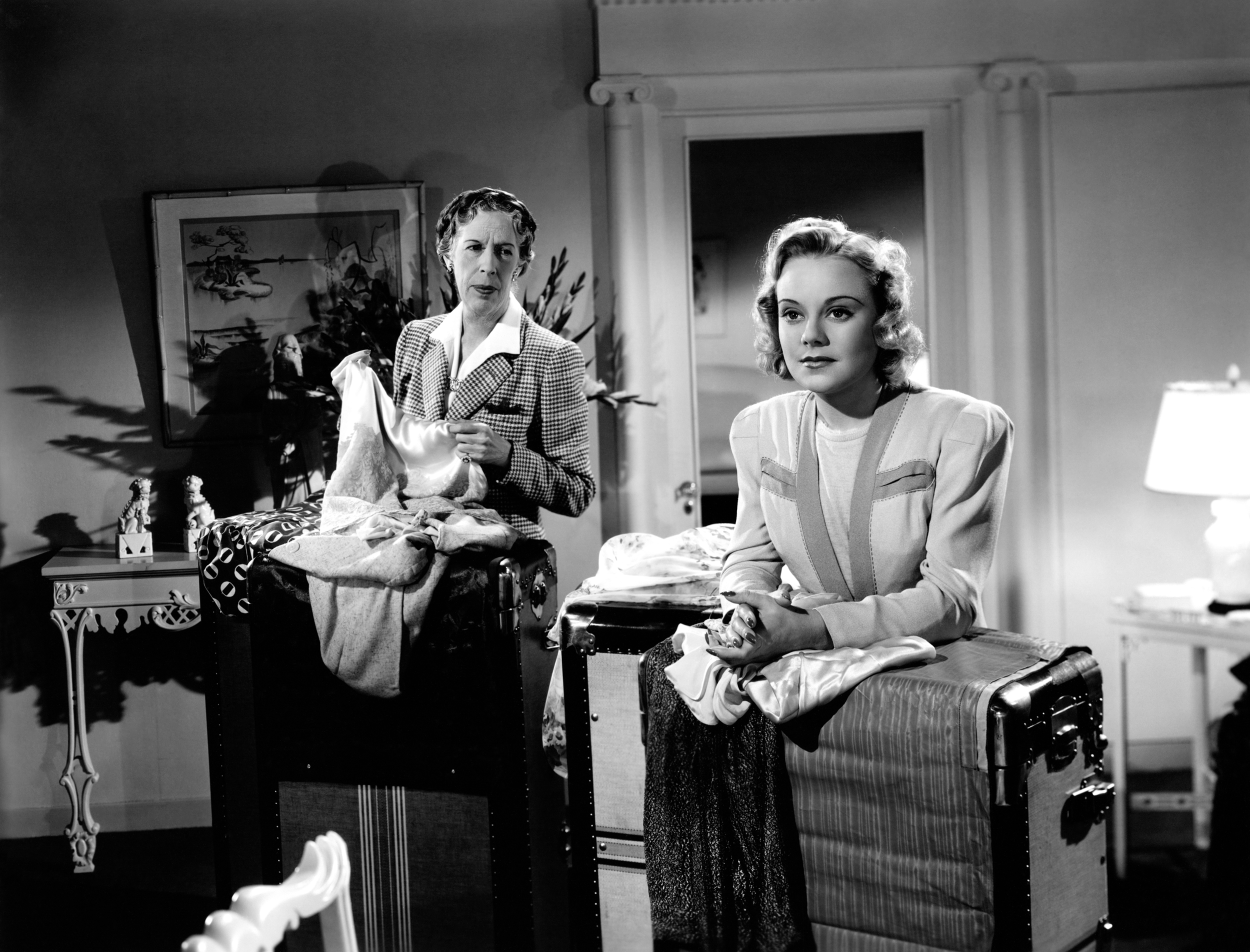 Sonja Henie in Second Fiddle with With Edna May Oliver (courtesy of Ricardo)