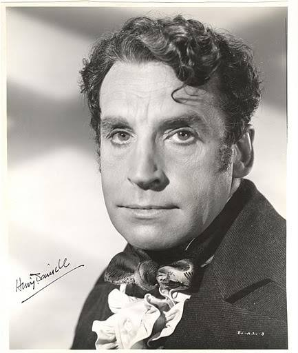 Henry Daniell was born today in 1894. The character actor maybe most remembered for his villainous roles.