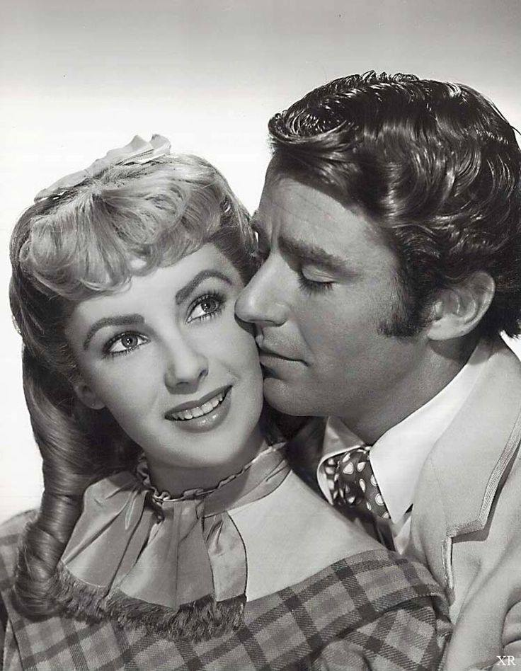 Peter Lawford with Elizabeth Taylor in Little Women (1949)