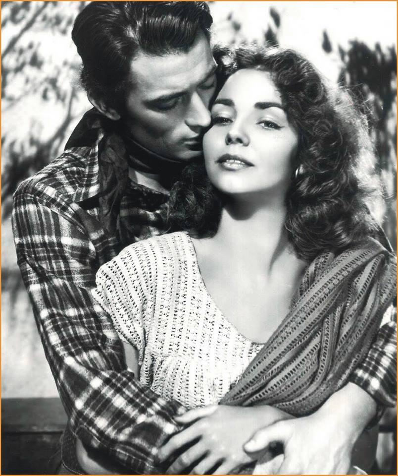 Jennifer Jones and Gregory Peck