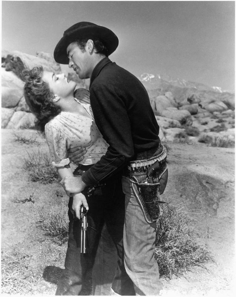 Anne Baxter and Gregory Peck