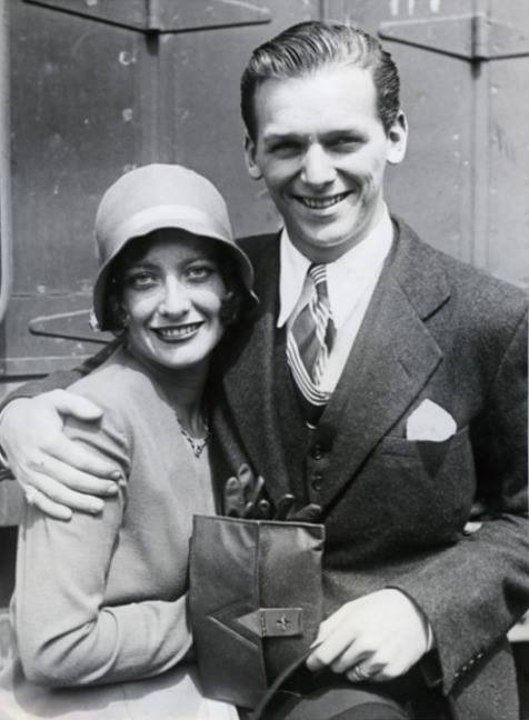 Douglas Fairbanks Jr. and Joan Crawford