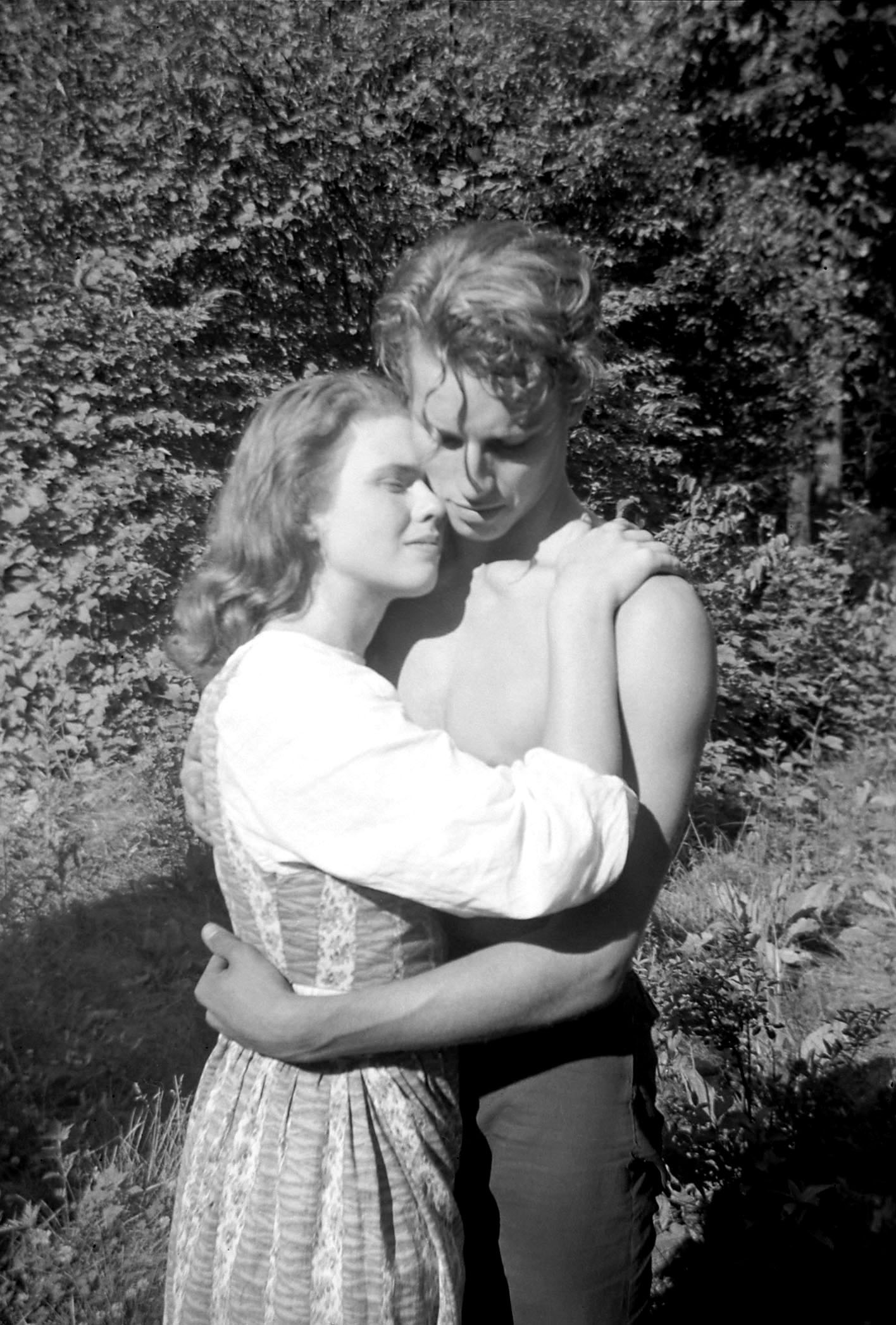 Charlton Heston in Peer Gynt with With Katharine Elfstrom