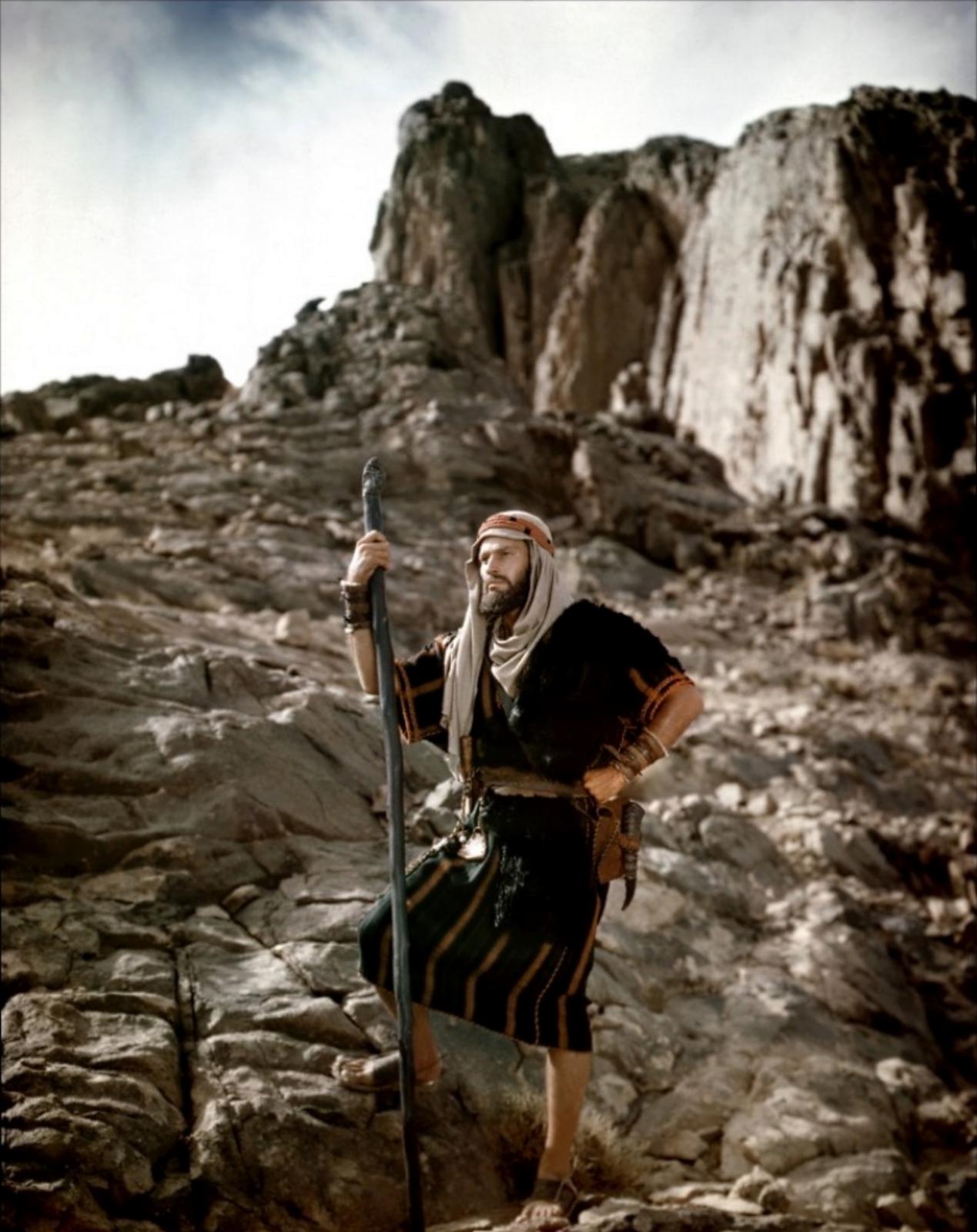 Charlton Heston in The Ten Commandments