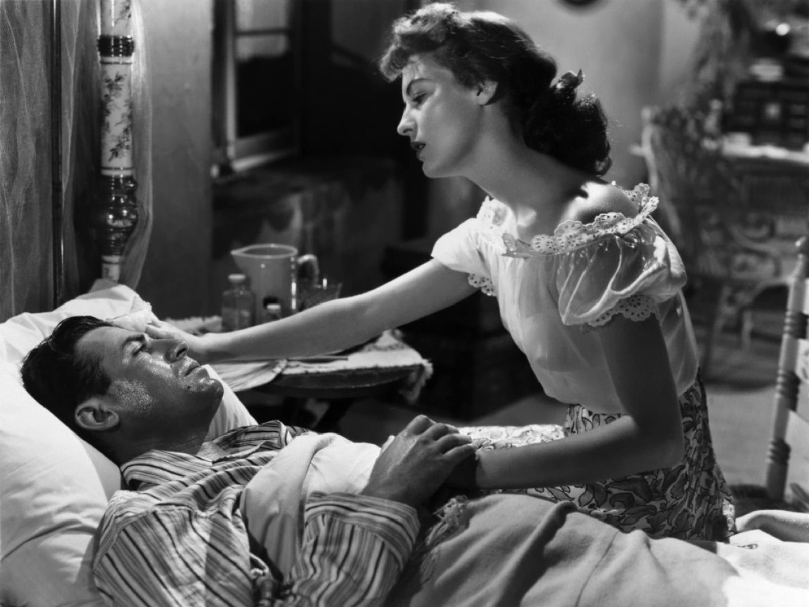 John Hodiak in The Bribe With Ava Gardner