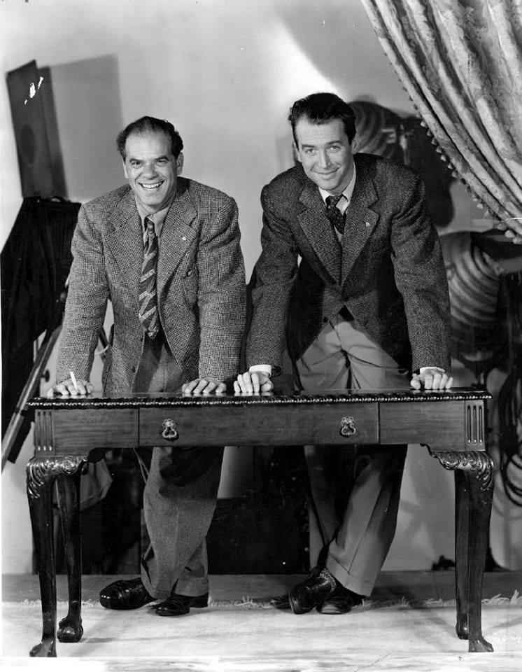 Stewart and director Frank Capra