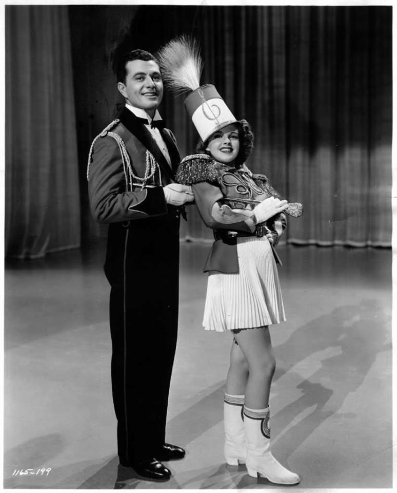Tony Martin and Judy Garland