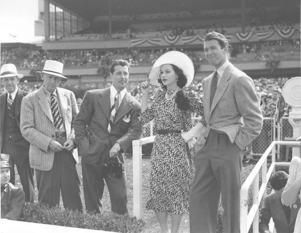 Photo of Don Ameche, Hedy Lamarr and James Stewart