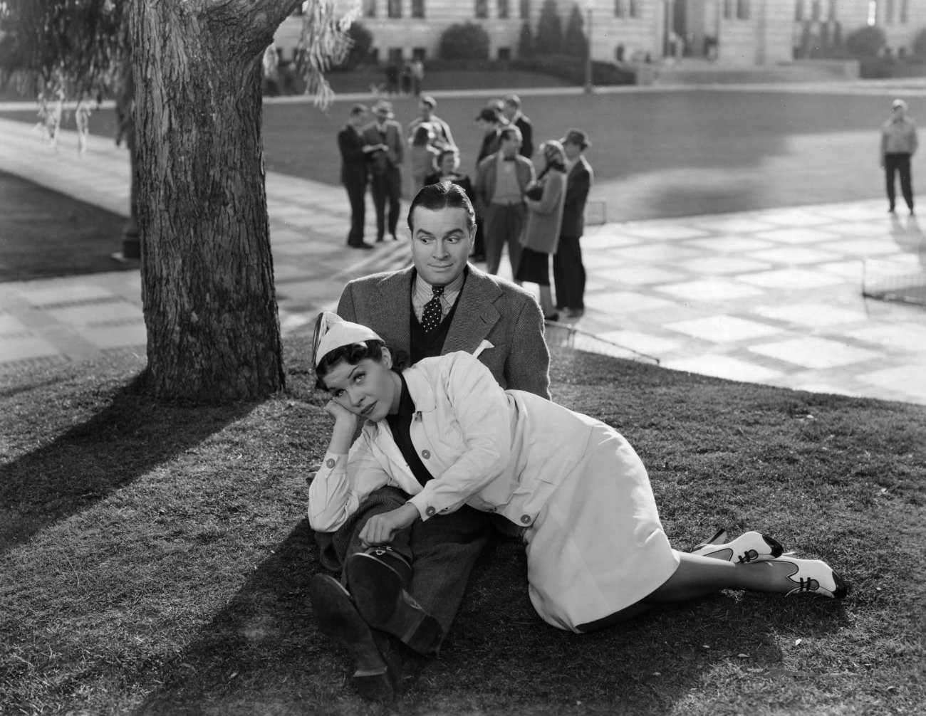 Bob Hope in College Swing With Martha Raye