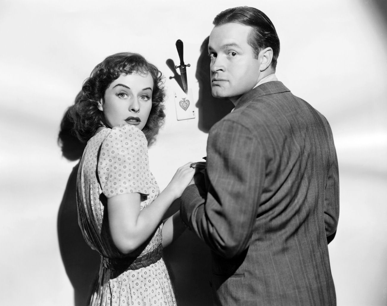 Bob Hope in The Ghost Breakers With Paulette Goddard