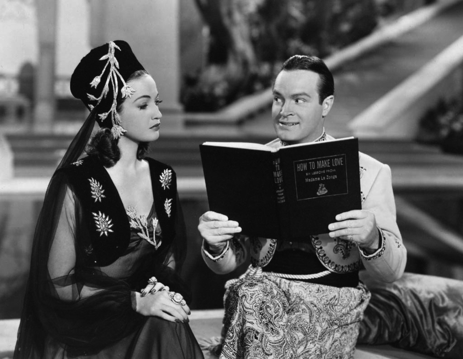 Bob Hope in Road to Morocco With Dorothy Lamour