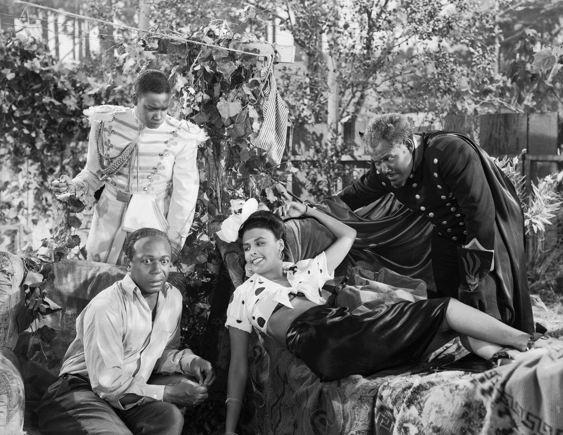 Lena Horne in Cabin in the Sky (L to R) Kenneth Spencer, Eddie