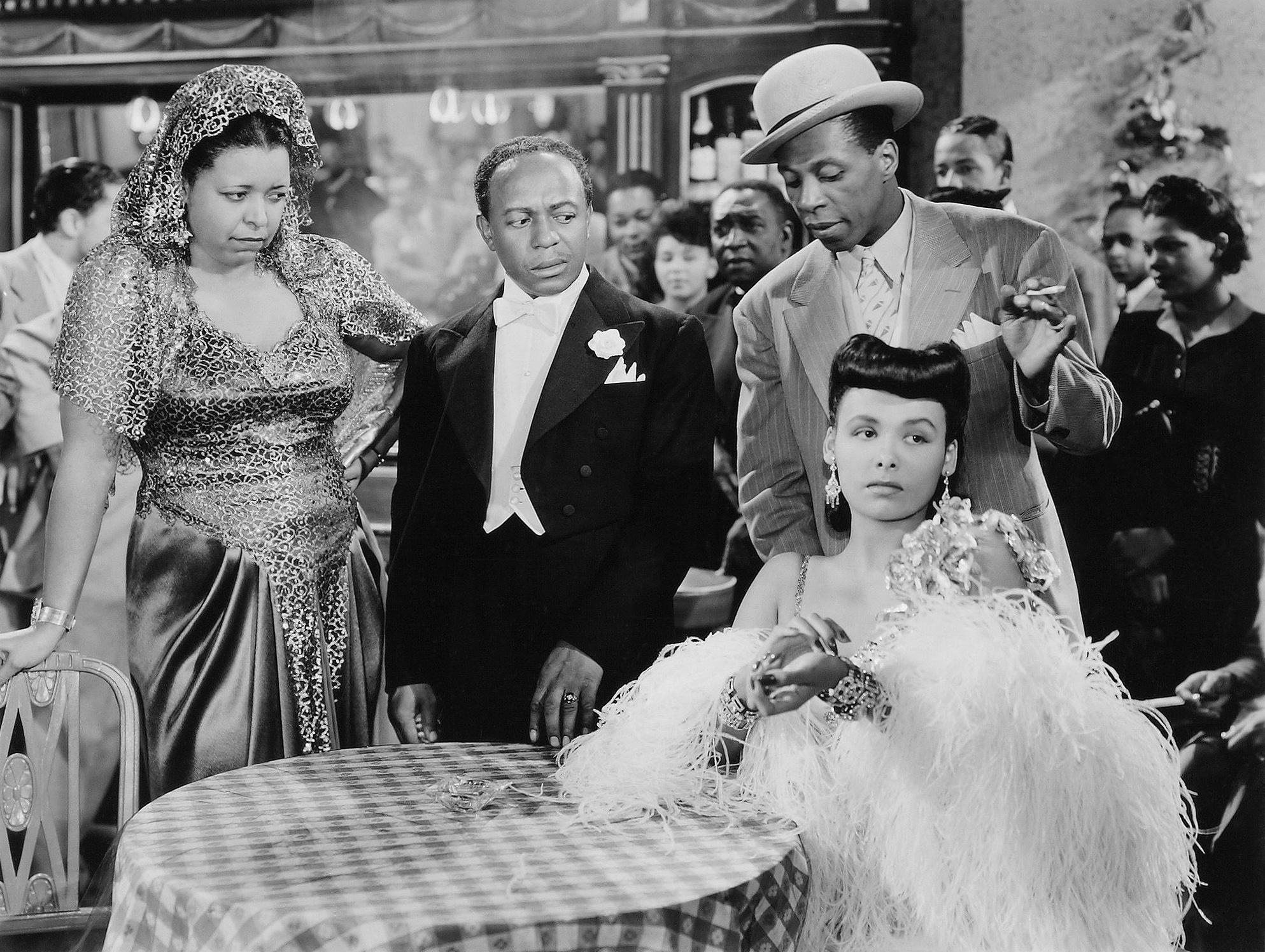 Lena Horne in Cabin in the Sky (L to R) Ethel Waters, Eddie