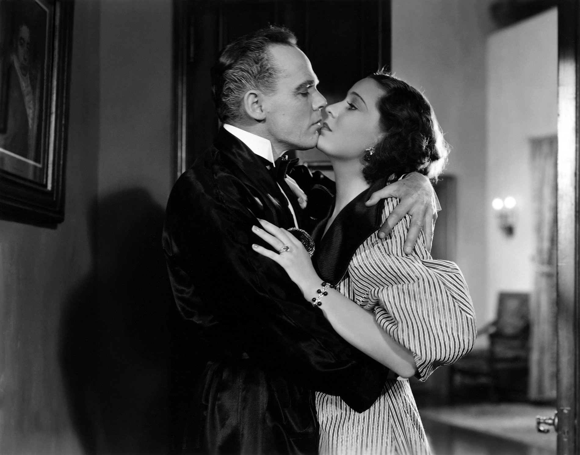 Henry Hull in Werewolf of London With Valerie Hobson