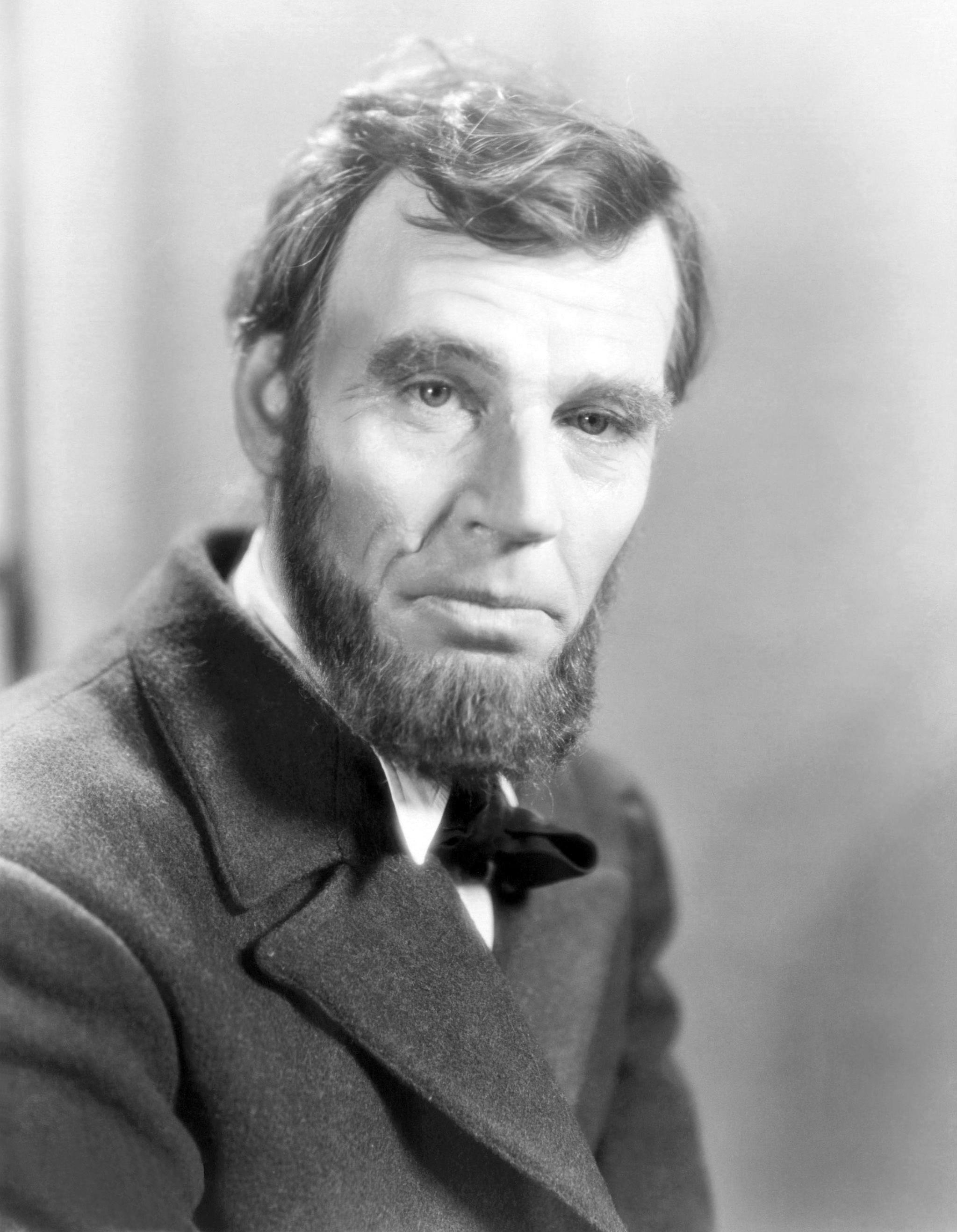 Walter Huston in Abraham Lincoln