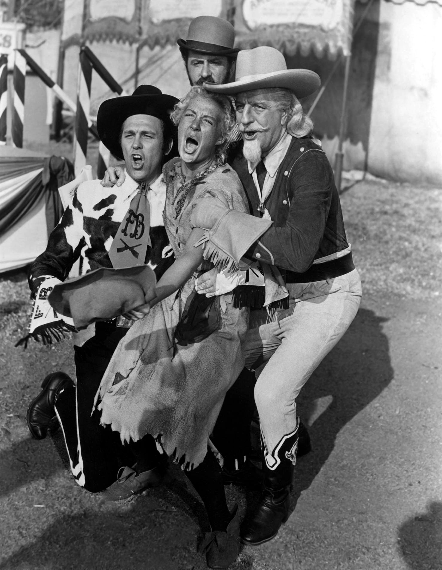 betty hutton radio star old time radio s betty hutton in annie get your gun l to r howard keel betty