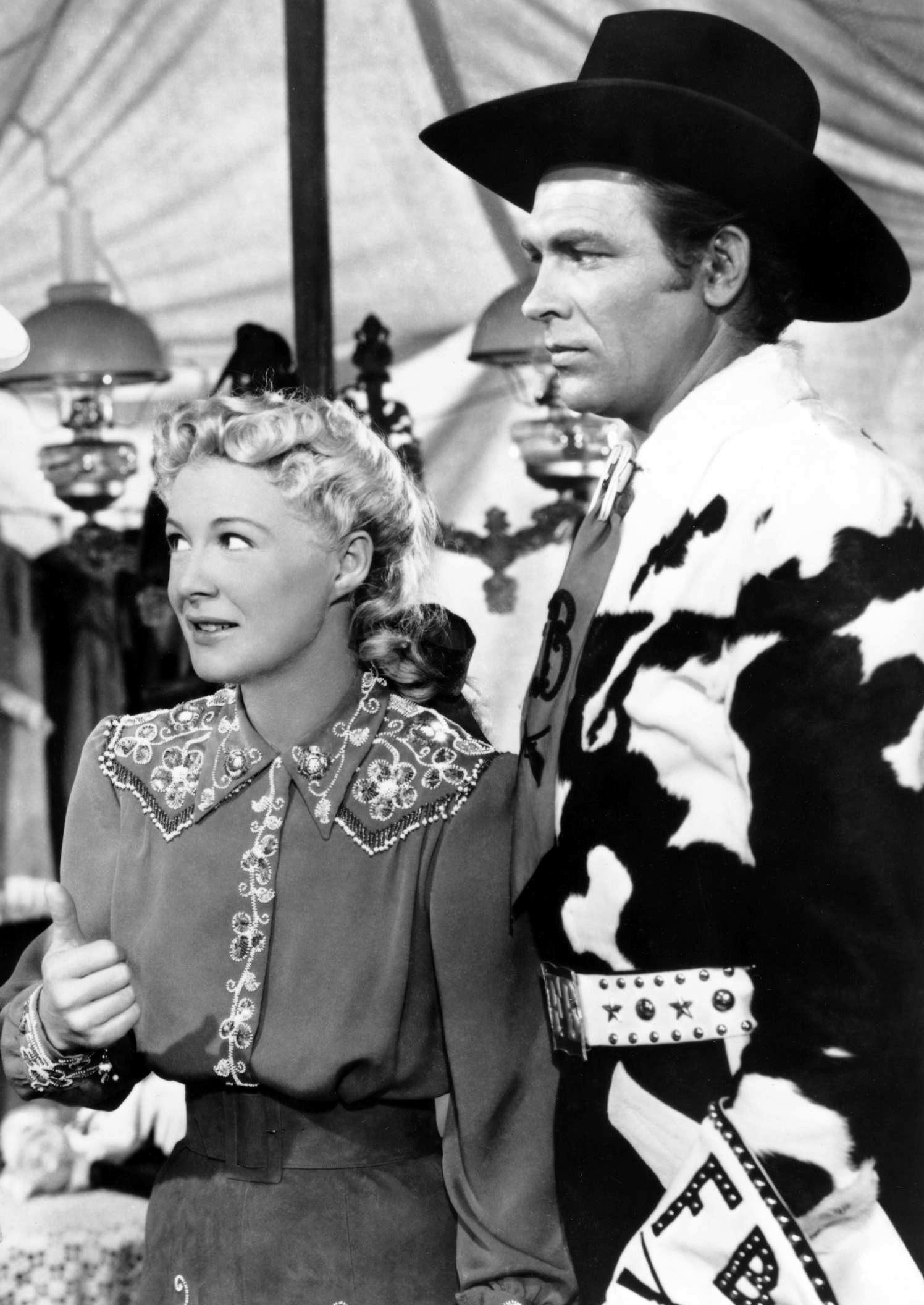 Betty Hutton in Annie Get Your Gun