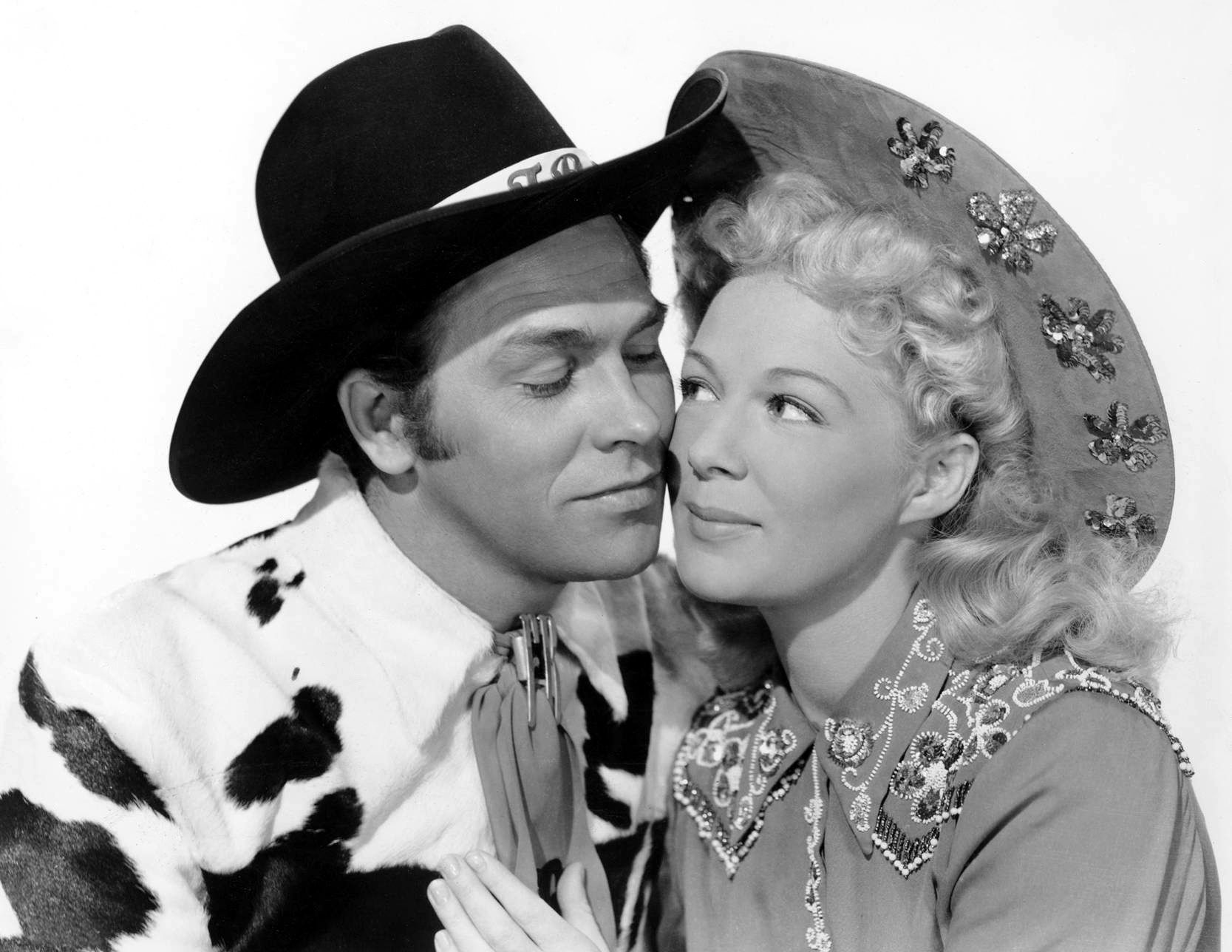 Betty Hutton in Annie Get Your Gun With Howard Keel
