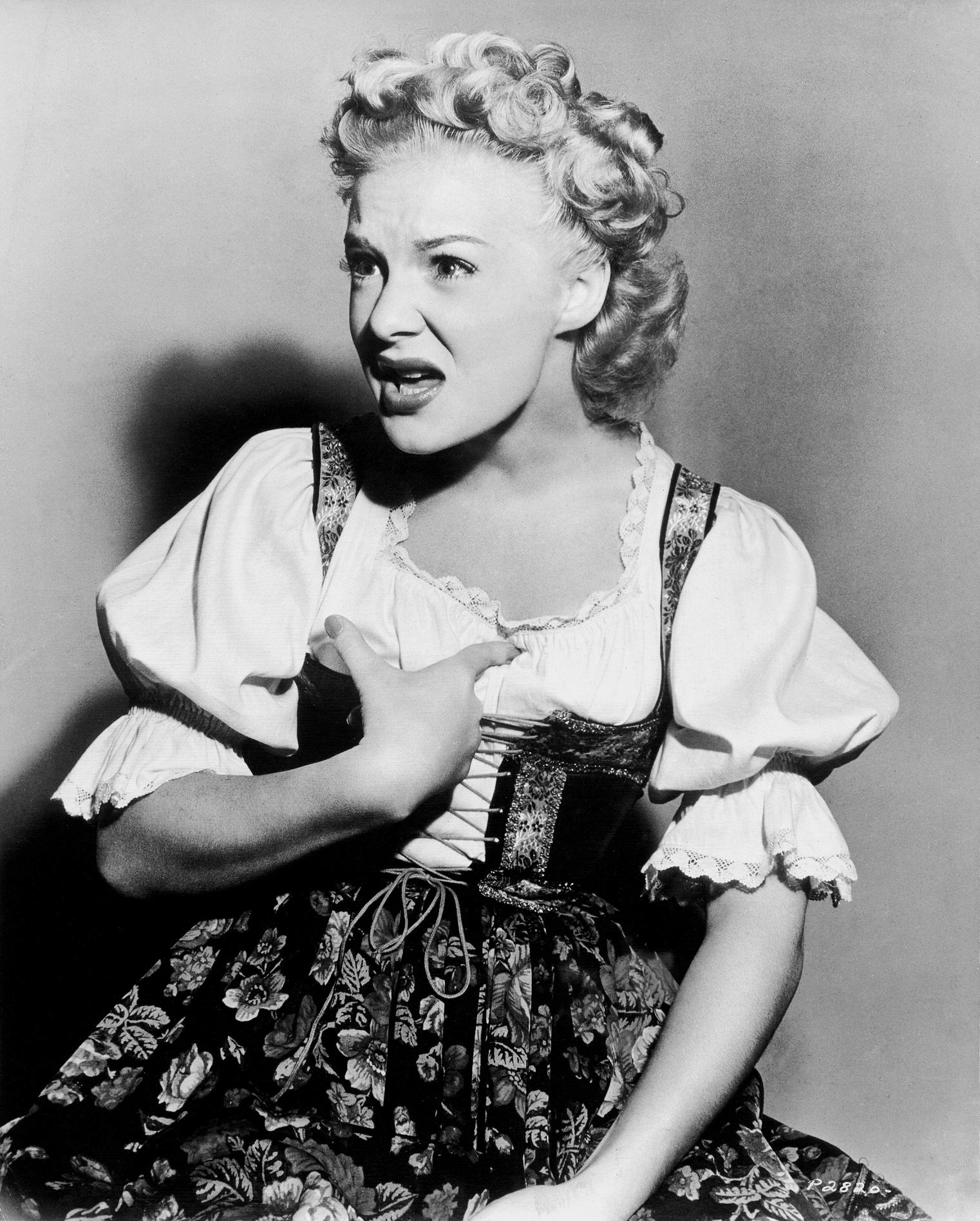 Betty Hutton in The Fleet's In