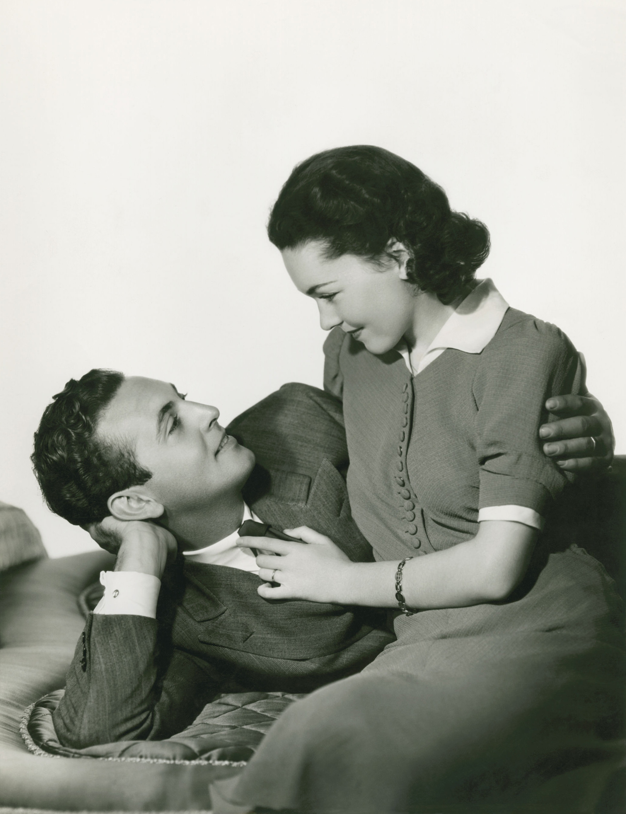 Allan Jones With Maureen O'Sullivan