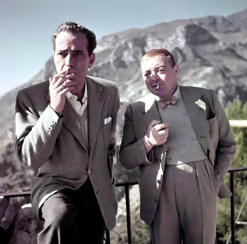 The great Peter Lorre, Humphrey Bogart's close friend and frequent co-star