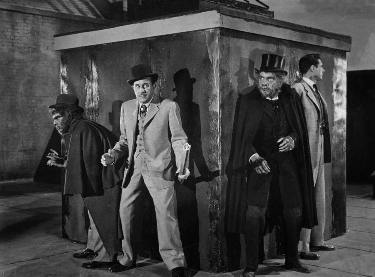 Boris Karloff With Abbott & Costello