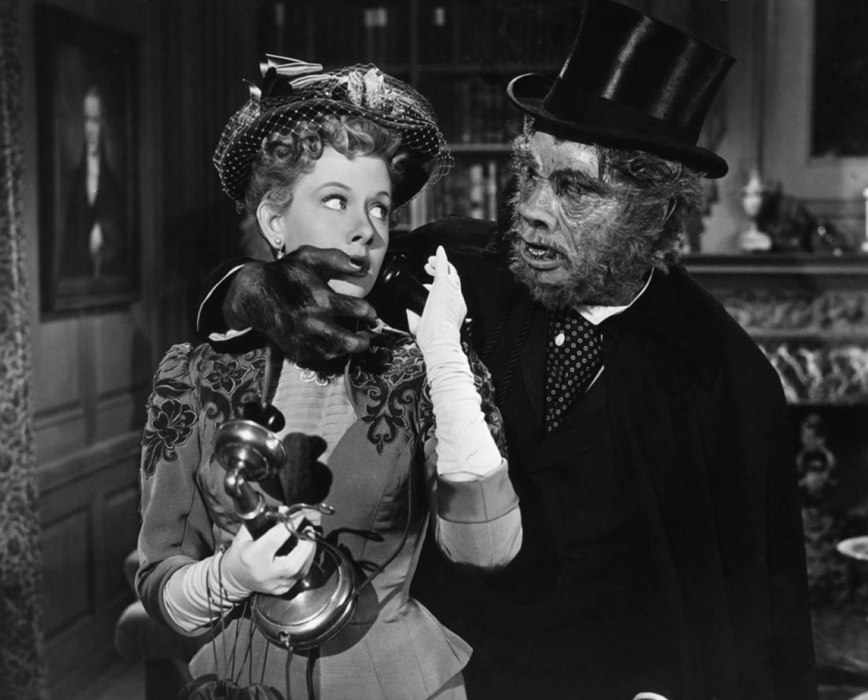 Boris Karloff With Helen Westcott