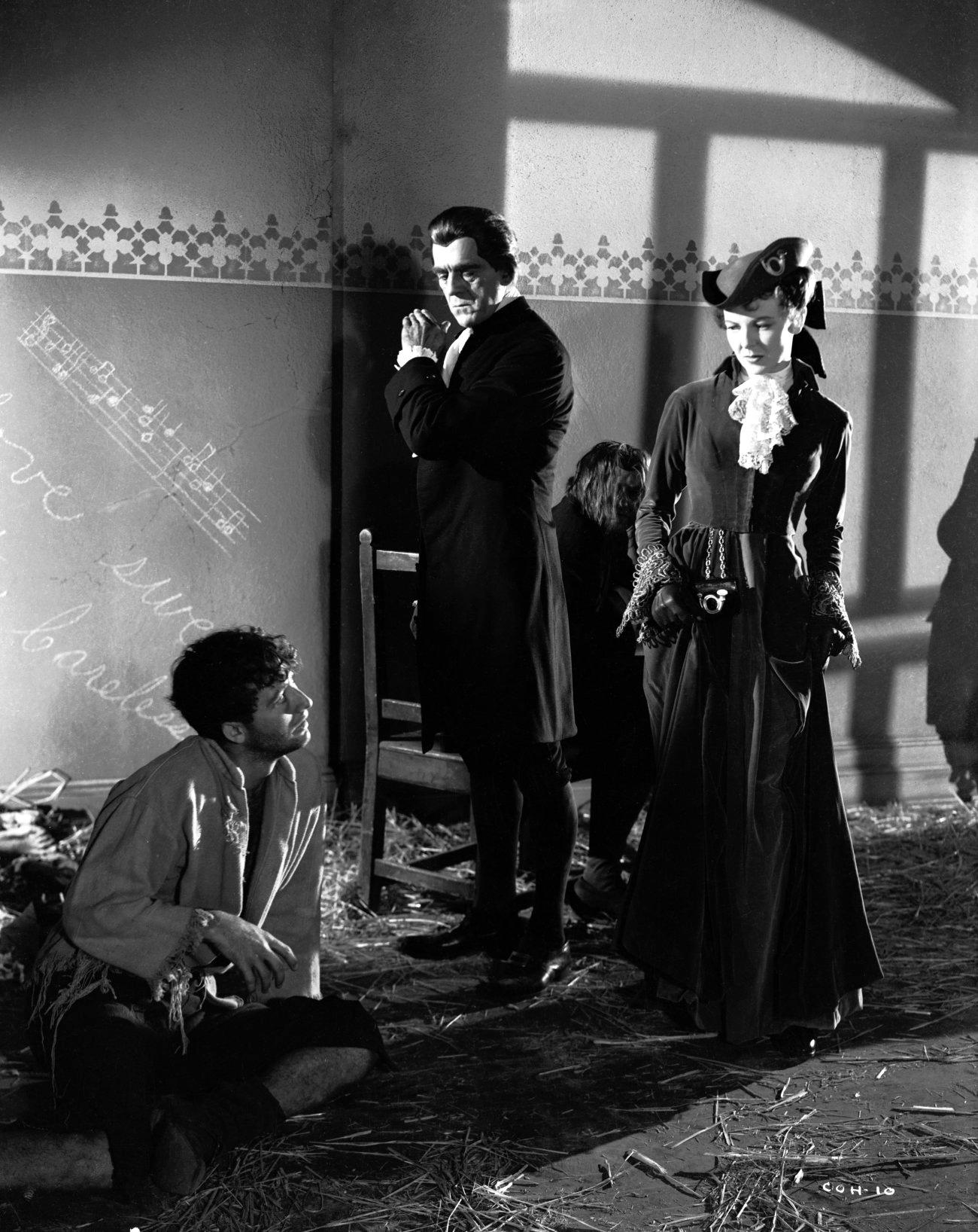 Boris Karloff With Anna Lee