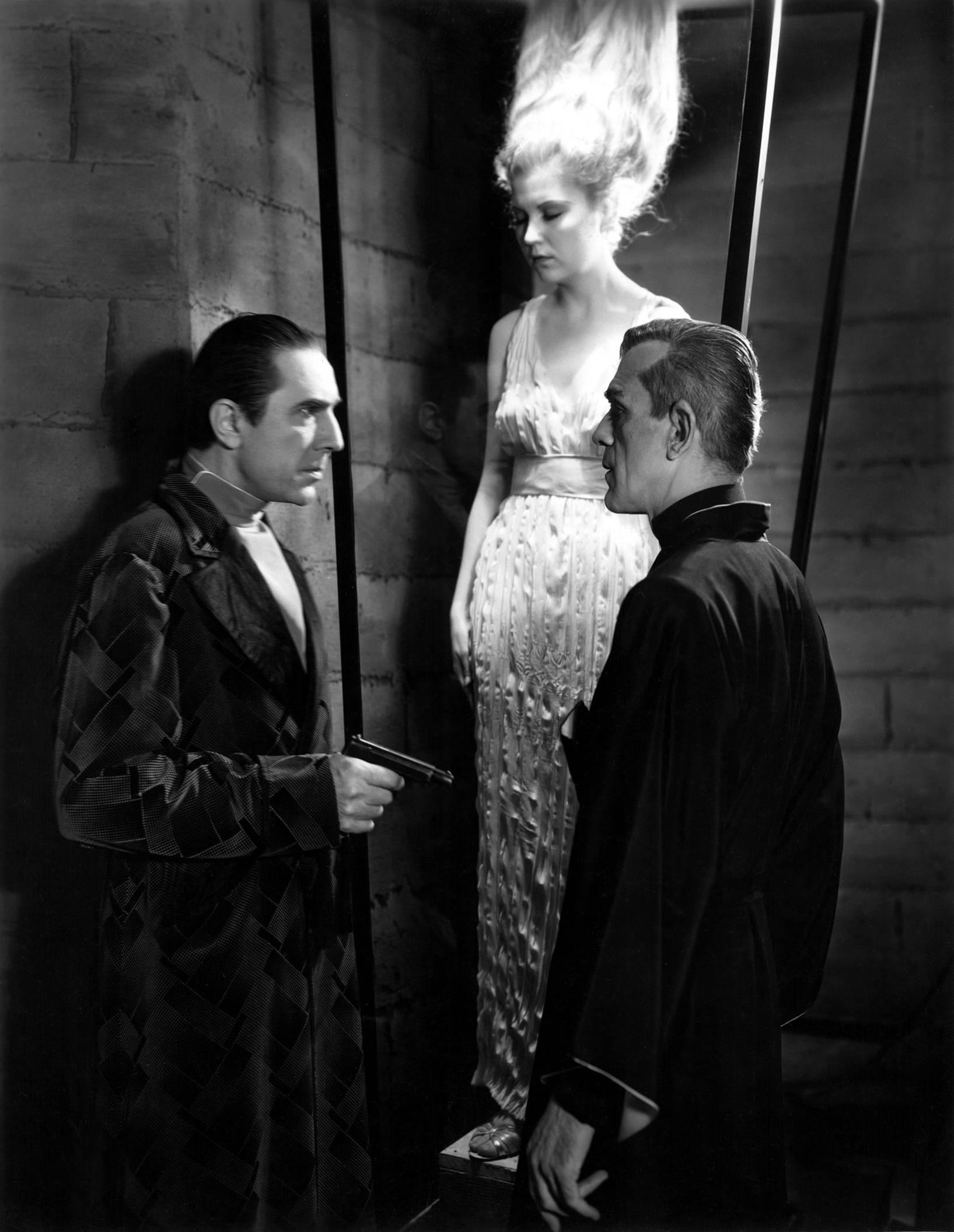 Bela Lugosi, Lucille Lund, Boris Karloff
