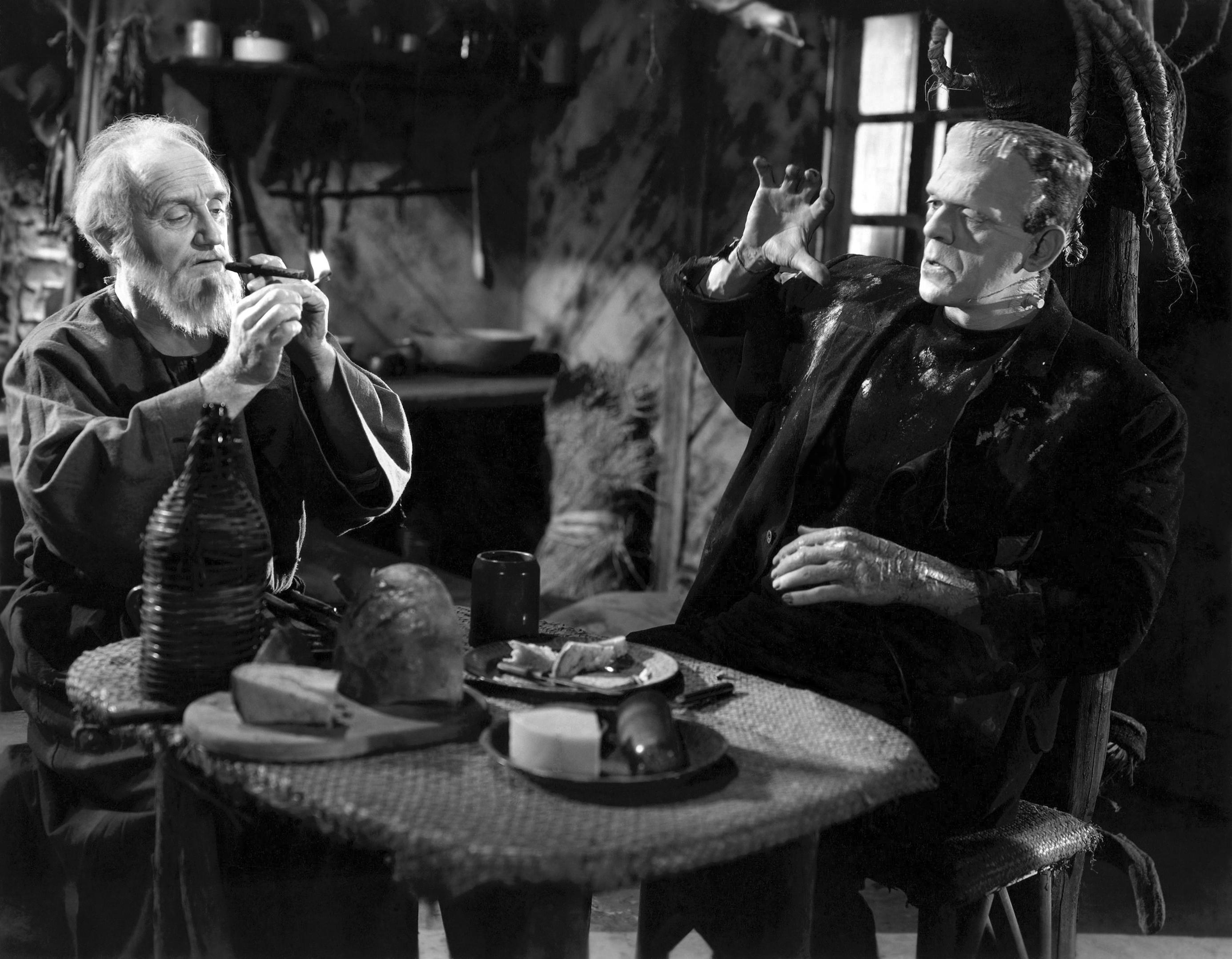 Boris Karloff With O.P. Heggie