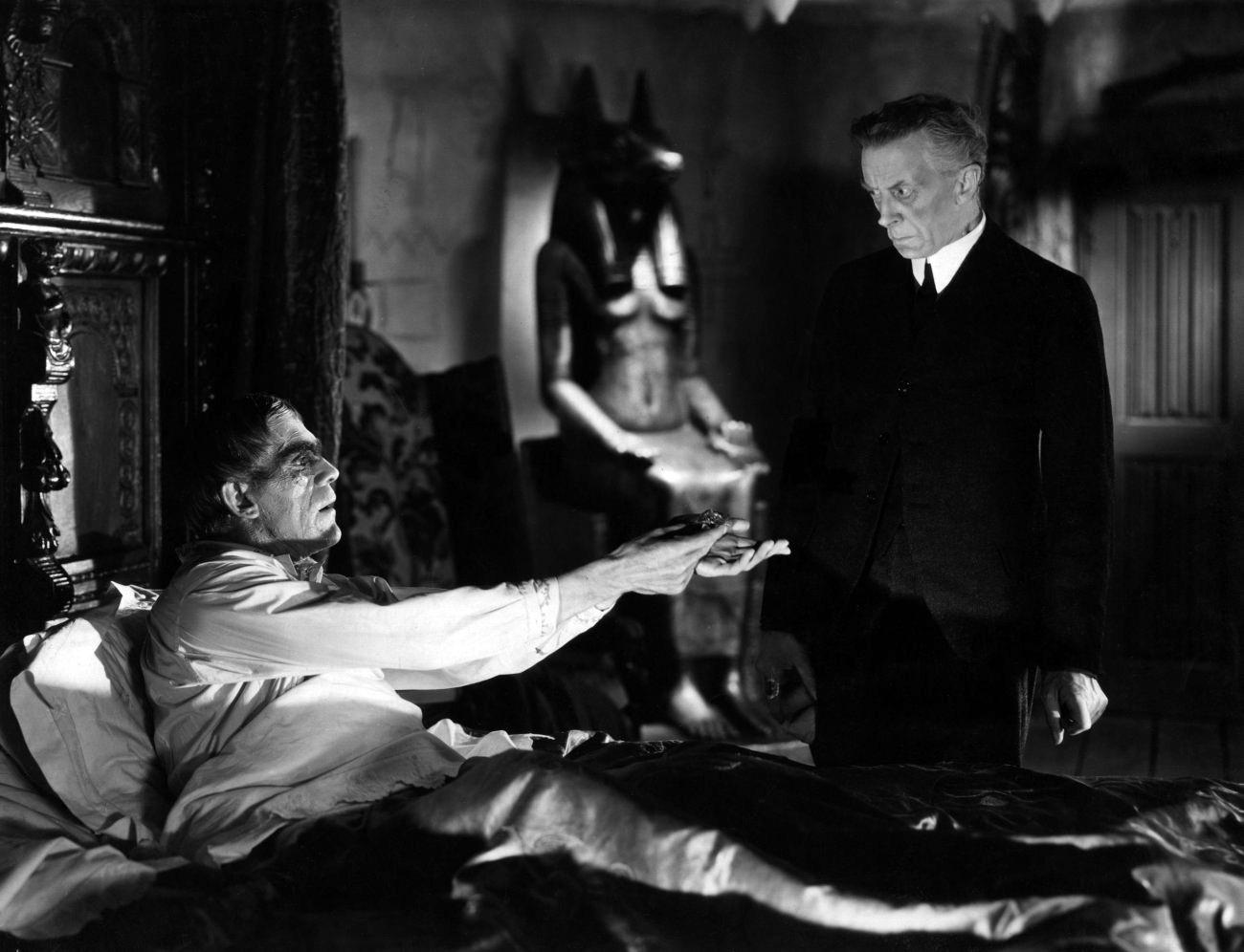 Boris Karloff With Ernest Thesiger