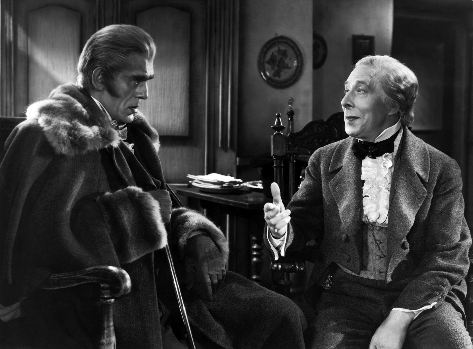 Boris Karloff With George Arliss