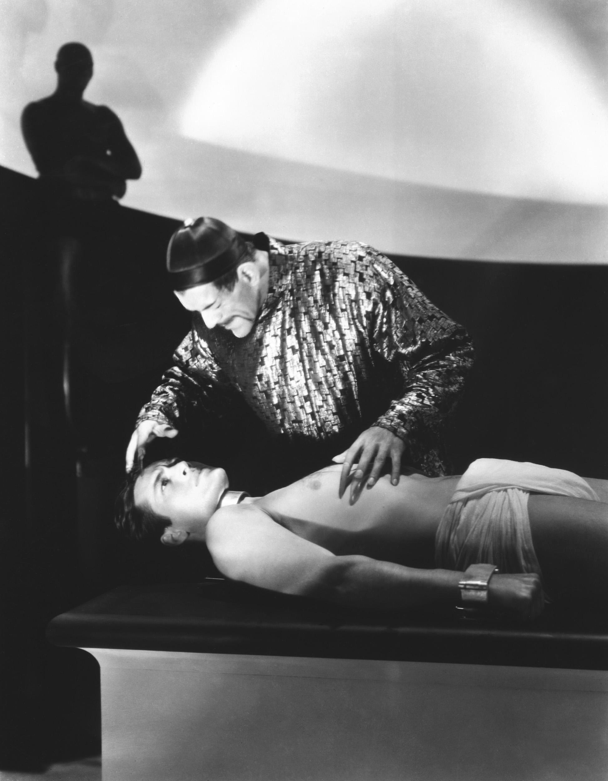 Boris Karloff With Charles Starrett