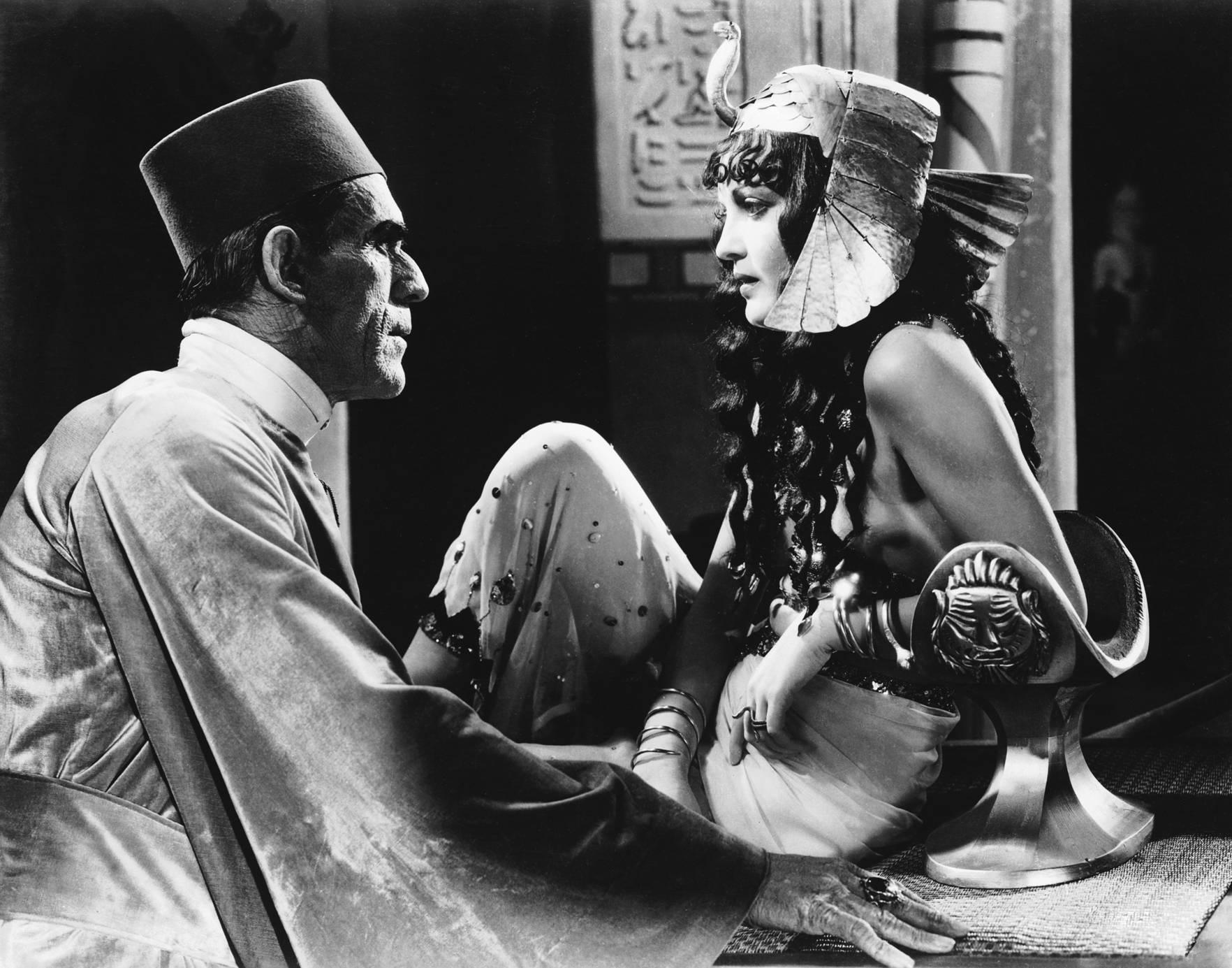 Boris Karloff With Zita Johann